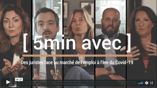 2020 – Interview vidéo – Etat du marché de l'emploi à l'ère du Covid-19.